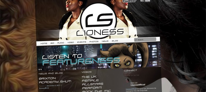 Lioness Website