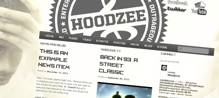 Hoodzee Website